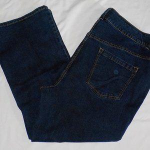 Lane Bryant jeans sz 26WP Slim Boot Cut